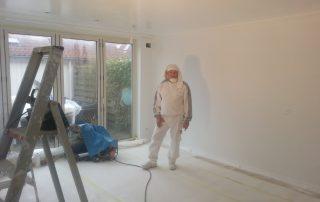 stukadoor haarlem strak witten woonkamer schoon werken
